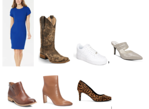 Indiana Styling Consultant recommends shoes to tell a story