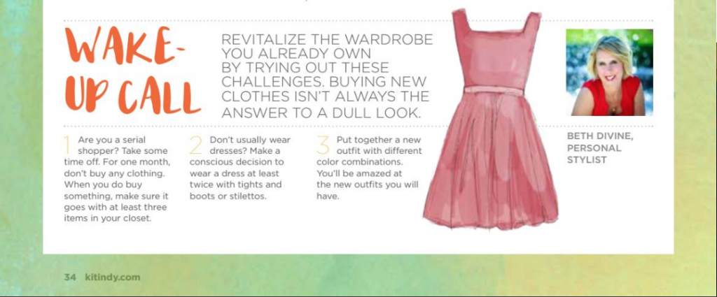 Beth Divine Gives Personal Styling Advice