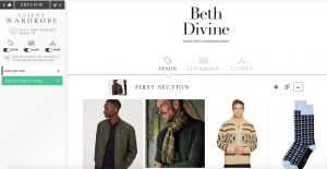 MyCloset is an Exclusive Service offered by Image Consultant Beth Divine