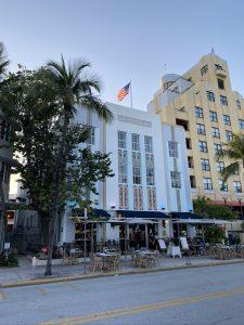 Art Deco District in Miami